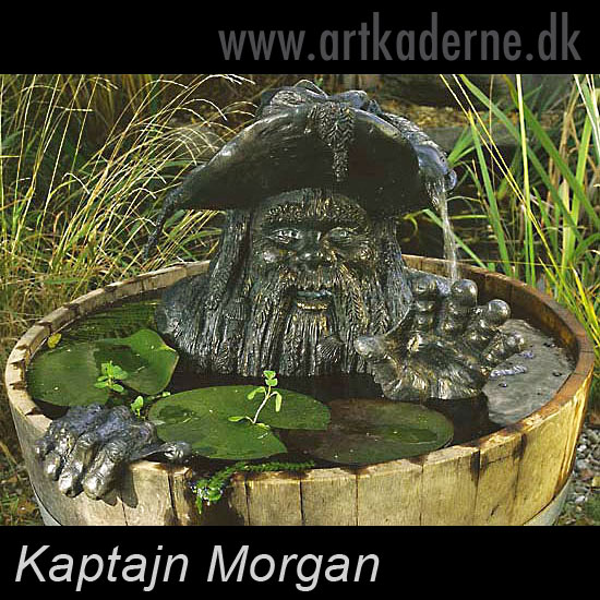 kaptajn sorte skæg